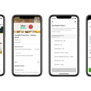 Sri Lankan government and Uber Eats partner to deliver essential supplies