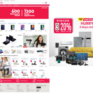 SINGER launches new website offering an unmatched shopping experience