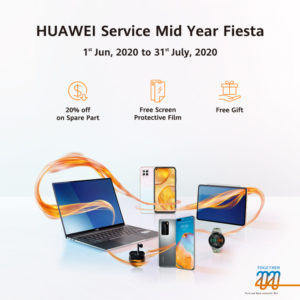 Huawei Service Mid-year Fiesta launched with superior offers