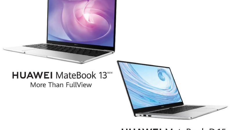 Huawei MateBook D15 and MateBook 13 optimize productivity with a pack of innovative features