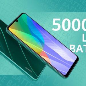 4GB RAM + 64GB storage, Huawei Y6P powered with 5000mAh long-lasting battery