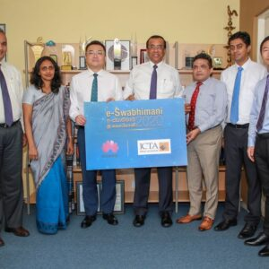 "Huawei co-sponsors ICTA for ""e-Swabhimani 2020"" Digital Social Impact Awards"
