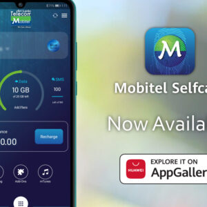 Mobitel apps are now available on Huawei AppGallery