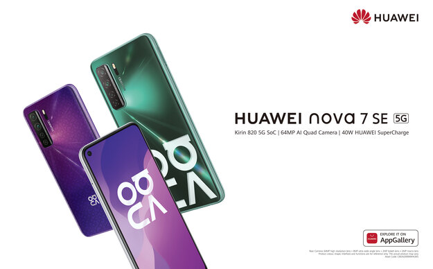 5G smartphone Huawei Nova 7 SE for every Sri Lankan is now available for pre-order