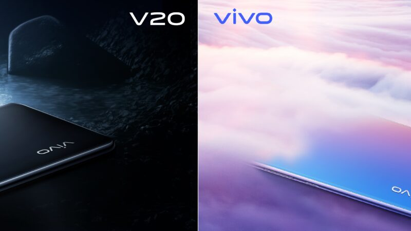 VIVO V20 TO HIT THE MARKET WITH INDUSTRY-LEADING EYE AUTOFOCUS FEATURE AND ULTRA-SLEEK AG GLASS DESIGN